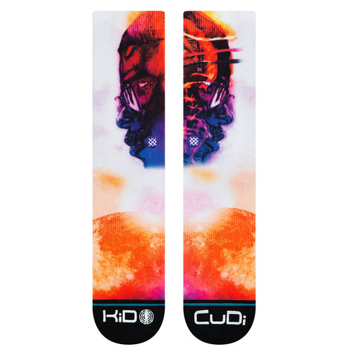 Носки STANCE ANTHEM CUDI MAN ON THE MOON White фото 5