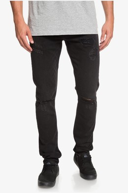 Узкие джинсы QUIKSILVER Distorsion Stranger Black STRANGER BLACK (kta0) фото