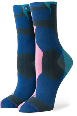 Носки STANCE SEND COLOR THERAPY BLUE фото
