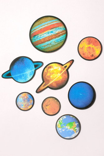 Набор патчей YSTICK 8 Планет (8 шт в уп) (Разноцветный) planet nails цветные фигурные стразы в ассортименте 76 видов 5 шт уп планет нейлс 11