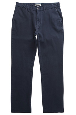 Штаны прямые BILLABONG New Order Chino 16 Темно-Синий фото