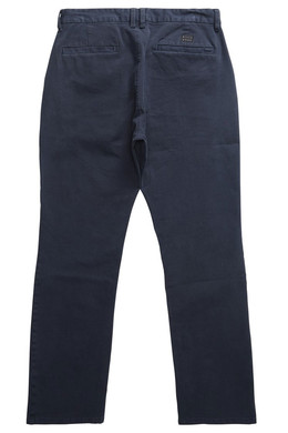 Штаны прямые BILLABONG New Order Chino 16 Темно-Синий фото 2