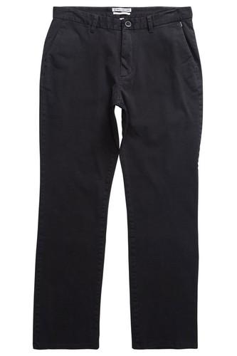 Штаны прямые BILLABONG New Order Chino 16 (Черный, 33)