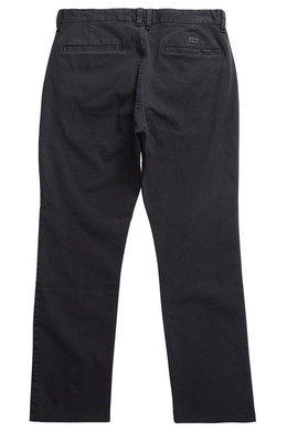 Штаны прямые BILLABONG New Order Chino 16 Черный фото 2