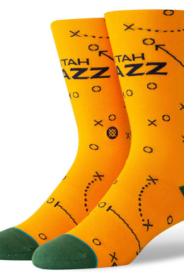Носки STANCE JAZZ PLAYBOOK Yellow фото