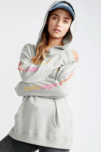 Женская толстовка BILLABONG Windy Palm (Ash Heather, XL)