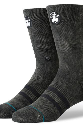 Носки STANCE CELTICS BLACKTOP (BLACK, L) носки stance nba arena celtics anklet green one size