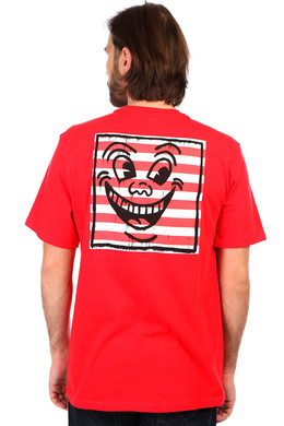 Футболка ELEMENT Kh Smile Tee Fire Red фото 2