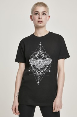 Футболка MISTER TEE Ladies Moth Tee (женская) Black фото