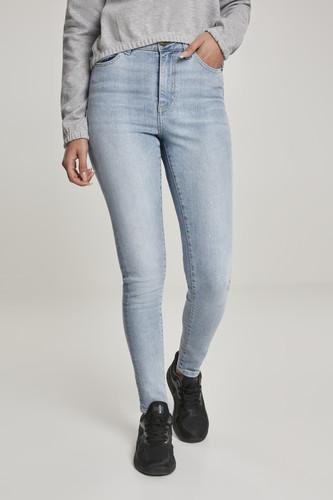 Джинсы URBAN CLASSICS Ladies High Waist Skinny Jeans (женские) (Authentic Blue Washed, 27/30)