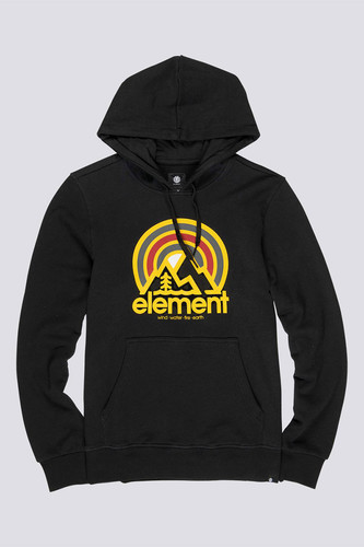 Толстовка ELEMENT Sonata Ft Hood Flint Black фото 8