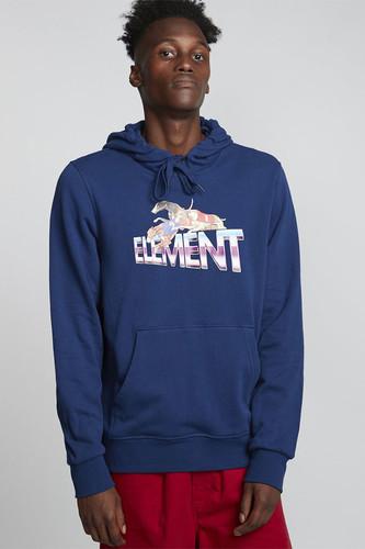 Толстовка ELEMENT Tristar Ft Hood (Blue Depths, S)