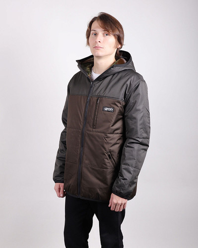 Куртка ANTEATER Doublejacket Brown-Haki фото 4