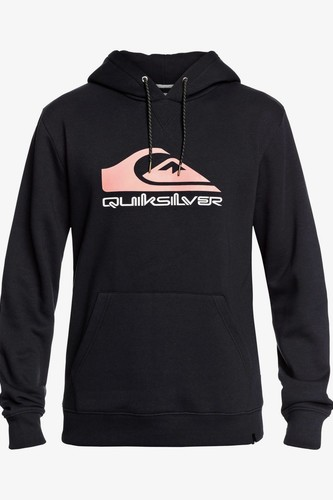 Мужское худи QUIKSILVER Big Logo Snow (BLACK ANNIVERSARY (kvm4), M) худи quiksilver quiksilver qu192emfzpt1