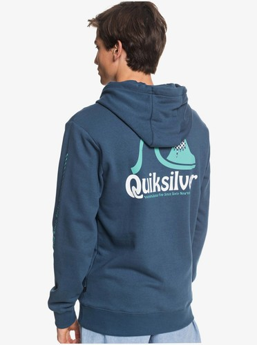 Мужское худи QUIKSILVER Empty Rooms MAJOLICA BLUE (bsm0) фото 8