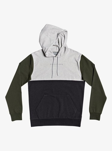 Мужское худи QUIKSILVER Under Shelter LIGHT GREY HEATHER (sjsh) фото 3
