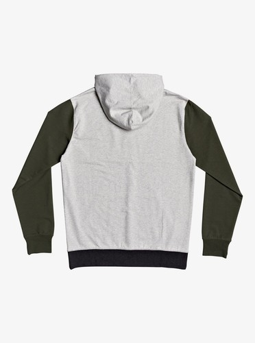 Мужское худи QUIKSILVER Under Shelter LIGHT GREY HEATHER (sjsh) фото 4