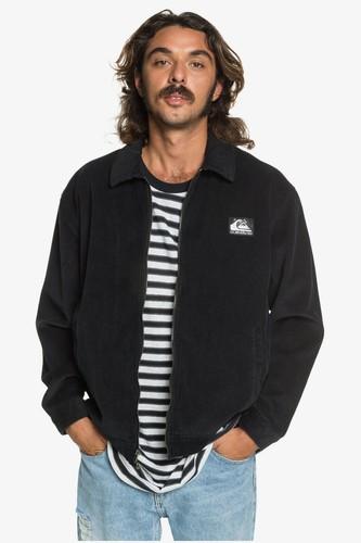 Мужская вельветовая куртка QUIKSILVER Originals (BLACK (kvj0), L)