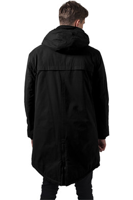 Куртка URBAN CLASSICS Cotton Peached Canvas Parka Black фото 2