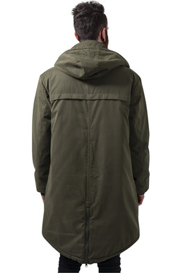 Куртка URBAN CLASSICS Cotton Peached Canvas Parka Olive фото 2