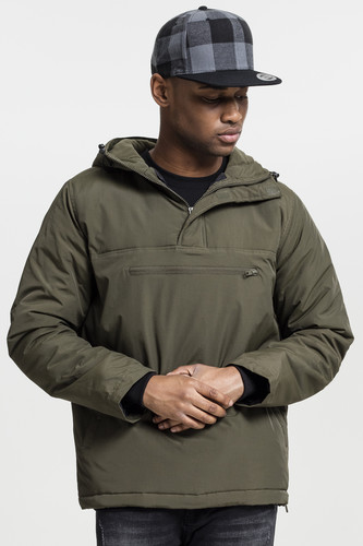 Куртка URBAN CLASSICS Padded Pull Over Jacket (Olive, XL)