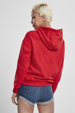 Толстовка URBAN CLASSICS Ladies Hoody Fire Red фото 2