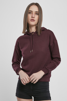 Толстовка URBAN CLASSICS Ladies Hoody Redwine фото