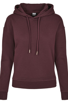 Толстовка URBAN CLASSICS Ladies Hoody Redwine фото 2