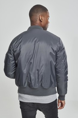 Куртка URBAN CLASSICS Basic Bomber Jacket Cool Grey фото 2