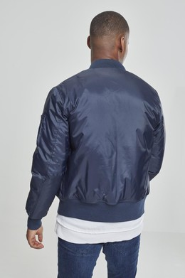 Куртка URBAN CLASSICS Basic Bomber Jacket Navy фото 2