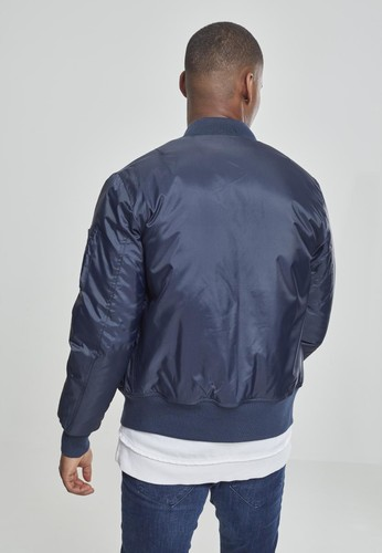 Куртка URBAN CLASSICS Basic Bomber Jacket Navy фото 7