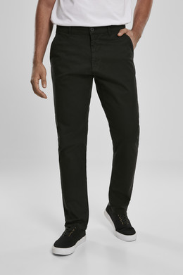 Брюки URBAN CLASSICS Performance Chino Black фото