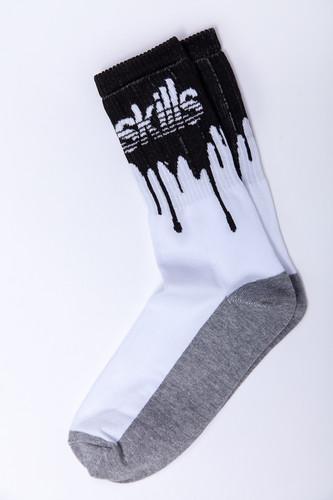 Носки SKILLS Нефть (Бело-Черный, 45-47)