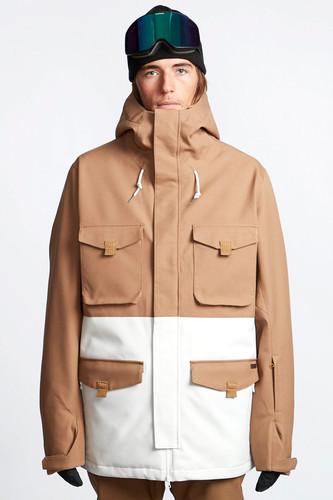 Куртка утепленная BILLABONG Adversary (Sand, L)