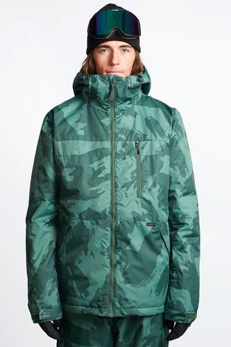 Куртка утепленная BILLABONG All Day (Dark Green, M)