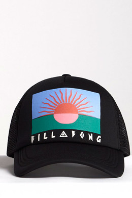 Бейсболка Billabong Across Waves Black/Pink 6322 фото