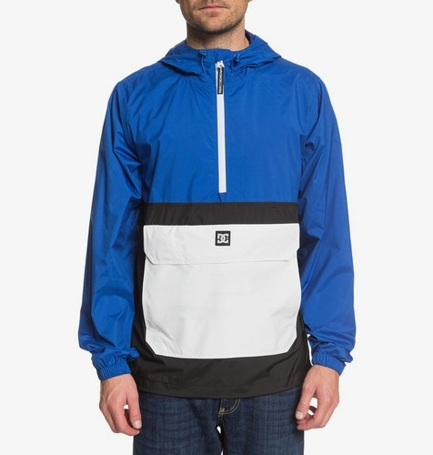 АНОРАК DC SHOES SEDGEFIELD PACKABLE NAUTICAL BLUE (bqr0) фото 3