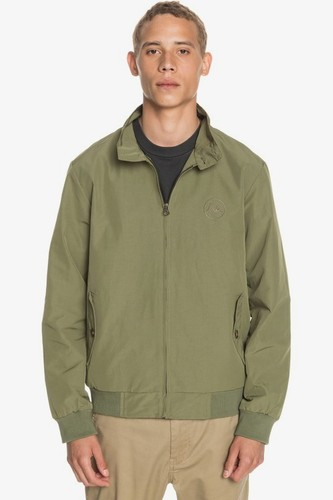 Мужская куртка QUIKSILVER 60/40 Harrington (FOUR LEAF CLOVER (gph0), M)