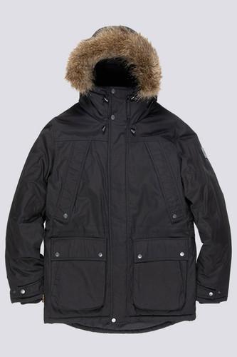 Куртка зимняя ELEMENT Fargo (Flint Black, XL)