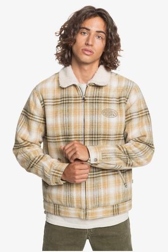 Мужская куртка на молнии QUIKSILVER Shadow Foam (KALAMATA SHADOW FOAM (gzh1), L)