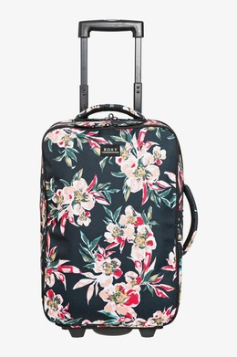 Чемодан на колесах ROXY Get It Girl 35L ANTHRACITE WONDER GARDEN S (xkmr) фото