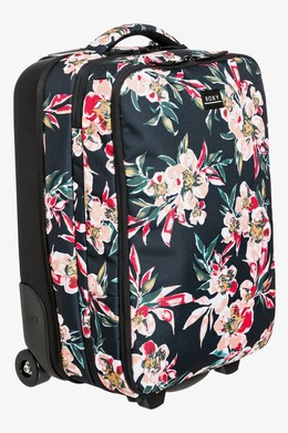 Чемодан на колесах ROXY Get It Girl 35L ANTHRACITE WONDER GARDEN S (xkmr) фото 2