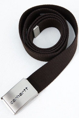 Ремень CARHARTT Clip Belt Chrome Leather