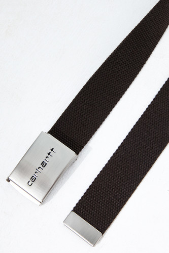 Ремень CARHARTT Clip Belt Chrome Leather фото 5