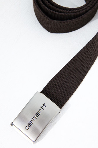 Ремень CARHARTT Clip Belt Chrome Leather фото 6