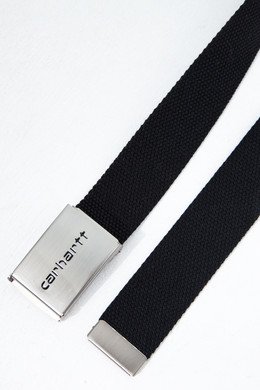 Ремень CARHARTT Clip Belt Chrome Black