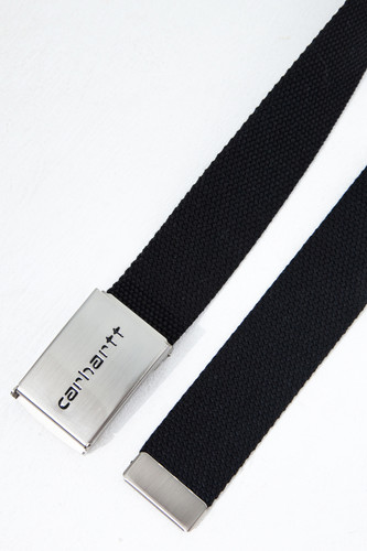 Ремень CARHARTT Clip Belt Chrome Black фото 5