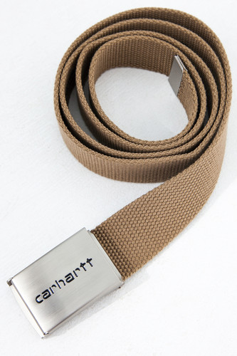 Ремень CARHARTT Clip Belt Chrome Tobacco фото 4