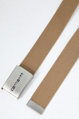 Ремень CARHARTT Clip Belt Chrome Tobacco фото 5