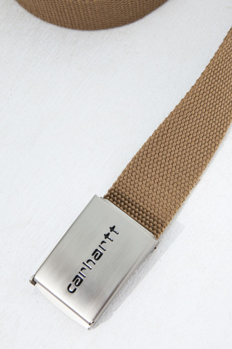 Ремень CARHARTT Clip Belt Chrome Tobacco фото 6